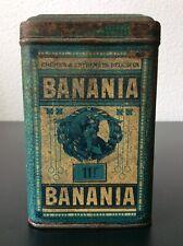 Boîte publicitaire en tôle lithographiée Cacao Banania Antillaise 500 gr.