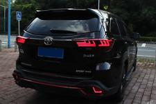 Pair Led Rear Tail Light Lamp Brake Assembly For Toyota Highlander 2014 2019