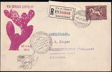 Zeppelin LZ 127 - 6. Südamerikafahrt 1935 - Post ab URUGUAY