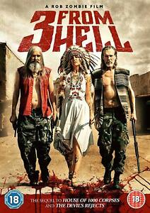 3 FROM HELL DVD Rob Zombie Film Sequel to House of 1000 Corpses New & Sealed