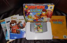 DIDDY KONG RACING NINTENDO 64 1997 RACING GAME COMPLETE TESTED & WORKS W/ BOX