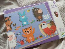 Djeco Puzzle Relief *Coucou-cat* +18m *Brand New*