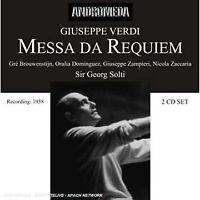 iuseppe Verdi - Messa da Requiem / Te Deum [CD]