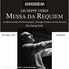 iuseppe Verdi - Messa da Requiem / Te Deum [CD]