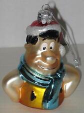 """Flintstones Fred Flintstone Blown Glass Ornament Approx 3"""""""