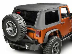 Smittybilt Bowless Combo Top - Black Diamond fits 07-18 Jeep Wrangler JK 2 Door
