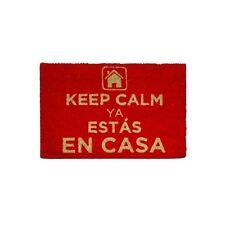 FELPUDO KEEP CALM. ENTREGA 24/48 HORAS.