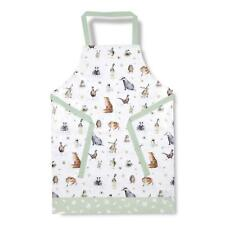 Pimpernel Wrendale Country Set PVC Coated Adult Apron Animal Duck Owl Badger
