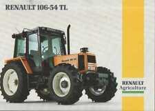 renault 106-54 tractor stickers / decals