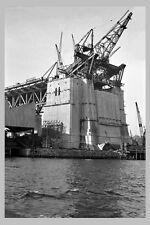SYDNEY Harbour Bridge Construct 2nd of 7 views 'Abutment'  modern Postcard