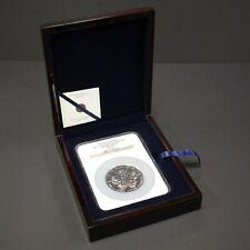 25th Anniversary 2013 Canada Maple Leaf S$50 5oz Silver Coin Slab