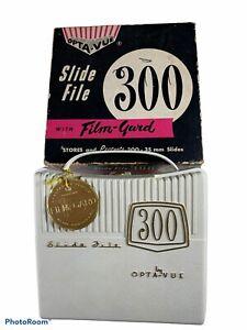 Opta Vue 300 Slide File White Original Box