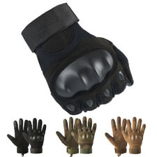 New ListingTactical Hard Knuckle Gloves Men's Military Army Combat Airsoft Security Police