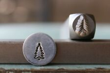 SUPPLY GUY 6mm Pine Tree Metal Punch Design Stamp SGCH-242