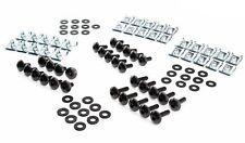 Werkstatt Set M5 Verkleidung Schrauben schwarz Unterlegscheiben Gummi Clipse 5mm