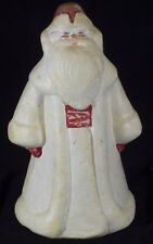VINTAGE OLD CHRISTMAS ORNAMENT DECORATION SANTA USSR BIG POLYFOAM VERY RARE !
