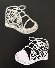 Crafts Metal Baby Bootie Shoe Die Cutter