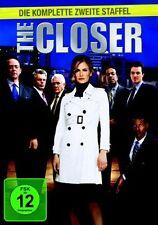 THE CLOSER : COMPLETE SEASON 2 (Kyra Sedgewick)  -  DVD - PAL Region 2 - New
