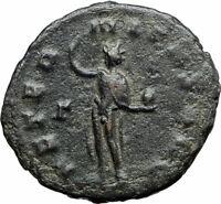GALLIENUS son of Valerian I 267AD Authentic Ancient Roman Coin Sol Sun i80012