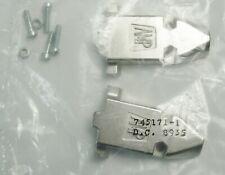 ~Qty=1 AMP 745171-1 RFI/EMI Shielded Metal Die Cast Hood 9 Pin DB9 Tyco TE