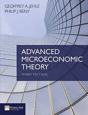 Advanced Microeconomic Theory (3rd Edition) by Geoffrey A. Jehle