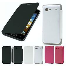 Custodia Flip Cover Case Slim Compatibile Samsung GALAXY S ADVANCE i9070 4COLORI