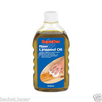 SupaDec Raw Linseed Oil & Boiled Linseed Oil Traditional Wood Treatment