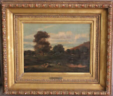 Jules Dupré (1811-1889) : Bords de rivière (cf. tableau du Louvre)