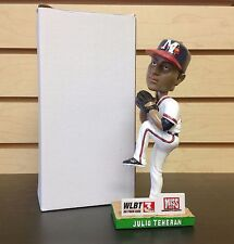 Julio Teheran Mississippi Braves Pitcher ~ 2015 Bobble Bobblehead SGA