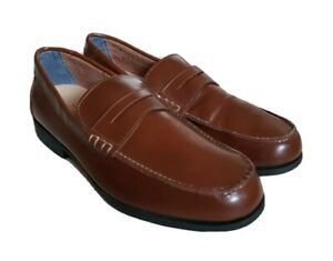 SEBAGO SHOES CLASSIC DAN LEATHER LOAFERS SIZE UK 11.5 EU 46.5 NEW WITHOUT BOX