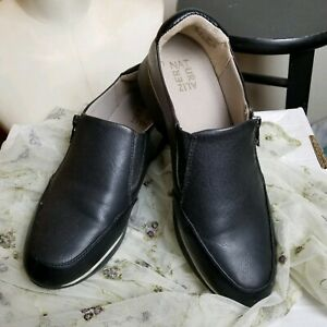 Naturalizer Finny Michael Jackson Skimmer Style Leather Slip On Shoes 10