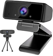 HD 1080P Webcam with Microphone,Web Camera with Tripod, Live Streaming Camera