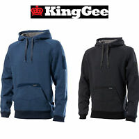 Mens KingGee Tradies Hoodie Hoody Jumper Pullover Winter Fleece Winter 16 K69855