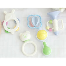 Baby Rattle 5pcs Set Infant Kids Handbells Cute Toy Hand Shaking Bells Rattles