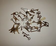 Lot of 65+ Vintage Skeleton Keys Door Lock Keys Metal ILCO Sentry Studebaker R16