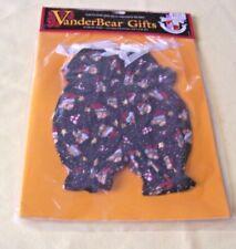 Vanderbear Gifts Chirstmas Holiday 1997 NIP Fluffy Muffy Chemisette NIP