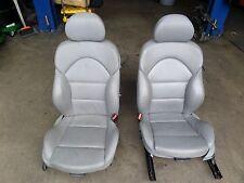BMW M3 Front Lumbar Powered Seat Dove Grey E46 3 Series OEM