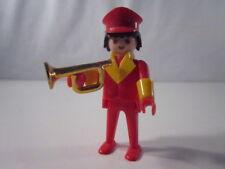 """PLAYMOBIL- """"DIFICILISIMO MUSICO CON TROMPETA CIRCO DE LA 1ª ÉPOCA"""" - LUJO!"""