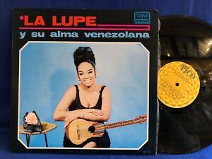 LA LUPE Y SU ALMA TICO ORIGINAL VENEZUELA LP NEAR MINT