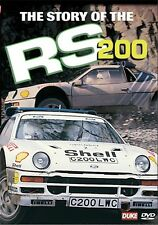 The Story of The RS200 (New DVD) Ford Rally Rallying Rallycross Development