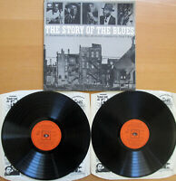 CBS 66218 The Story Of The Blues 2xLP Gatefold Vinyl NM/EX