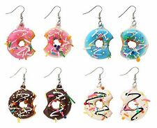 Unbranded Acrylic Hook Costume Earrings without Stone