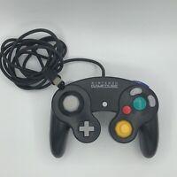 Nintendo Gamecube Controller - Black OEM   AUTHENTIC   TESTED