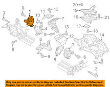 AUDI OEM 12-16 A6 Quattro-Engine Motor Mount/Torque Strut 4G0199381LF