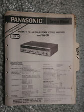Panasonic Volume Bass Treble Balance  Knob Model RE8080 Receiver