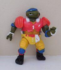 Vintage 1991 TMNT Teenage Mutant Ninja Turtle TD Tossin' Leo Figure Playmates