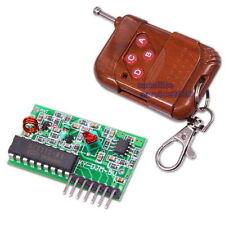 Telecomando con Modulo Ricevitore Trasmettitore 4-Canali Wireless 315MHz