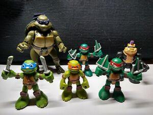 2014 Teenage Mutant Ninja Turtles Viacom Playmates Figure Lot, Asst 96100, TMNT