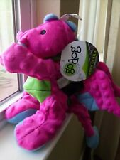 Go Dog Dragon Dog Toy Large Squeaker Pink Green Chew Guard Technology Nwt