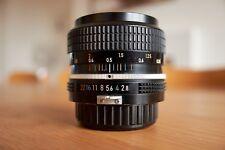 Nikon Nikkor 35mm f/2.8 Pre-AI Lens Manual focus F Mount